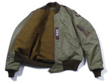 【uscountrystore】-  BIRDIE MADEBIRDIE MADE L-2 (MOD) FLIGHT JACKET, BLANKET LINING, Nationalist Chinese Air Forces, 1953