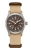 【uscountrystore】-  HAMILTON WATCHHAMILTON KHAKI FIELD MECHANICAL-Green Dial
