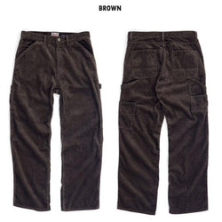 【uscountrystore】-  HOUSTONHOUSTON - 6W CORDUROY PAINTER PANTS #1913
