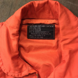 【uscountrystore】-  BIRDIE'S COLLECTIONK-2B MIL-S-6265D INDIAN RED/ORANGE Flight Suit 1960/1961 NOS