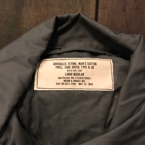 【uscountrystore】-  BIRDIE'S COLLECTION1968 K-2B Flying Coverall MIL-C-6265E 1968 NOS