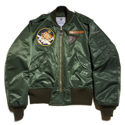 【uscountrystore】-  BIRDIE MADEBIRDIE MADE L-2 FLIGHT JACKET, C.B.I. 449TH FTR SQ, TEST SAMPLE 1945, CUSTOM ORDER