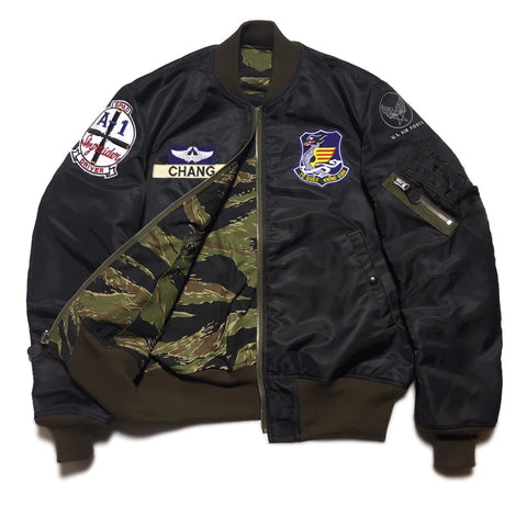 【uscountrystore】-  BIRDIE MADEBIRDIE MADE L-2B FLIGHT JACKET, VIETNAM AIR FORCE, VNAF 1966, CUSTOM ORDER