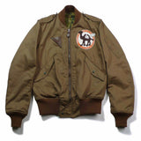 【uscountrystore】-  BIRDIE MADEBIRDIE MADE L-2 FLIGHT JACKET, Nationalist Chinese Air Force 10th Transport Wing, Used Sample