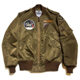 【uscountrystore】-  BIRDIE MADEBIRDIE MADE L-2 FLIGHT JACKET, C.B.I. CACW, Nationalist Chinese Air Force 32nd FTR SQ, 1945, CUSTOM ORDER