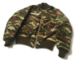 【uscountrystore】-  BIRDIE MADEBIRDIE MADE L-2B FLIGHT JACKET, VIETNAM AIR FORCE/ ARVN AIRBORNE, REVERSIBLE, CUSTOM ORDER