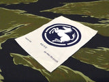 "【uscountrystore】-  MIMURA YOKOMIMURA YOKO ROK ARMY "" WHITE HORSE "" 9th DIVISION SILK STYLE WOVEN PATCH.  SIZE: 2 3/4""."