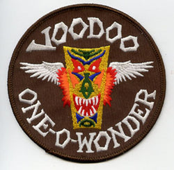【uscountrystore】-  MIMURA YOKOUSAF F-101 ROCAF RF-101 VOODOO PATCH