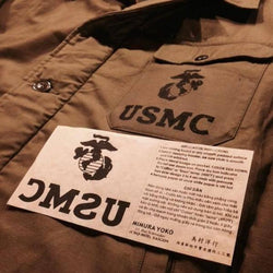 【uscountrystore】-  MIMURA YOKOMIMURA YOKO USMC EGA IRON ON DECAL
