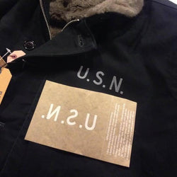 【uscountrystore】-  MIMURA YOKOMIMURA YOKO US NAVY USN IRON ON DECAL