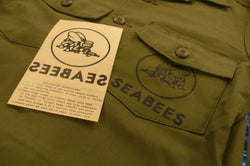 【uscountrystore】-  MIMURA YOKOMIMURA YOKO US NAVY SEABEES IRON ON DECAL