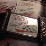 【uscountrystore】-  BIRDIE'S COLLECTIONZIPPO Limited Edition, US NAVY F-4 PHANTOM II Units, 1993