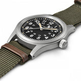 【uscountrystore】-  HAMILTON WATCHHAMILTON KHAKI FIELD MECHANICAL-Black Dial