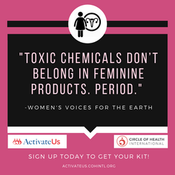 Menstrual Health Activism  Kit