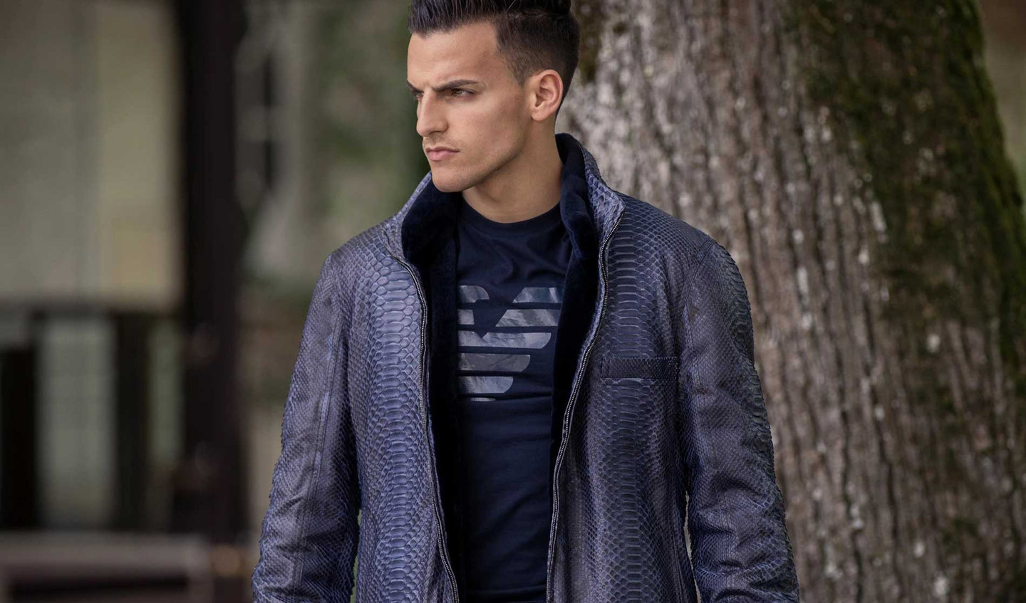 Men's Python Coats and Jackets
