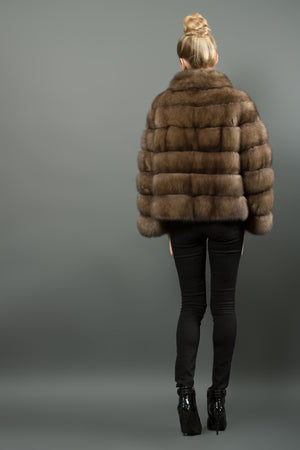 Russian Sable fur Jacket