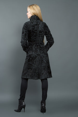 Black Swakara Coat