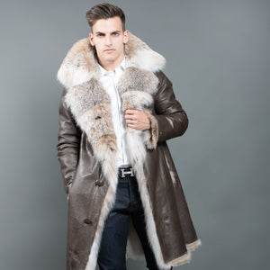 Reversible Canadian Lynx Fur Coat