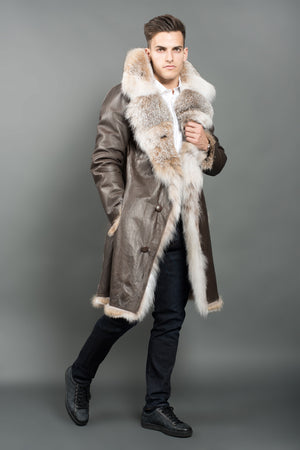 Reversible Canadian Lynx Coat
