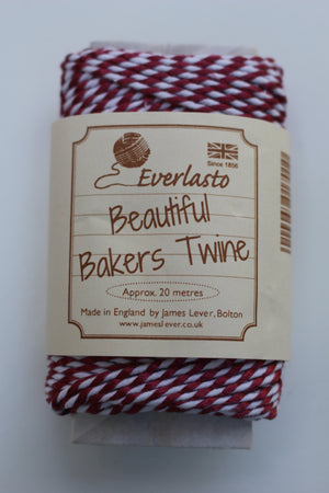 Metallic Bakers Twine 20m Spool