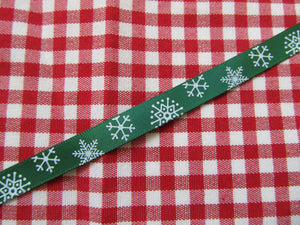Satin Christmas Ribbon - 3 Metre Length