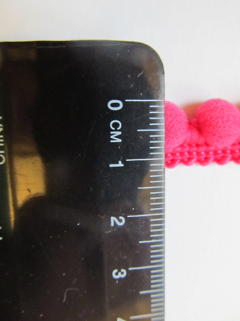 Small Pom Pom Trim with Fixed Bobbles