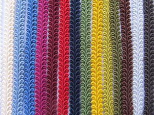 10mm Cotton Scroll Braid