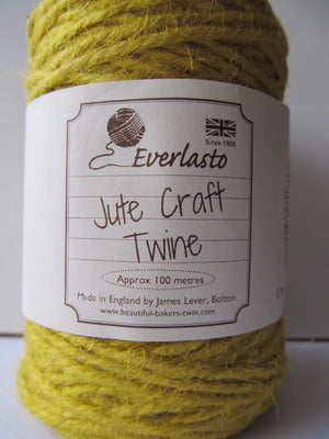 Coloured Jute Craft Twine 100m Reel