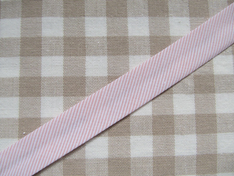 Textured Woven Stripe Bias Binding