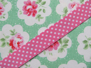 Polka Dot Bias Binding