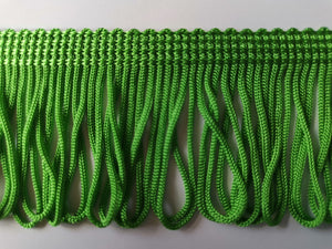 50mm Chainette Loop Fringe - 23 Colours Available