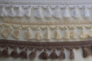 80mm Cotton Tassel Fringe