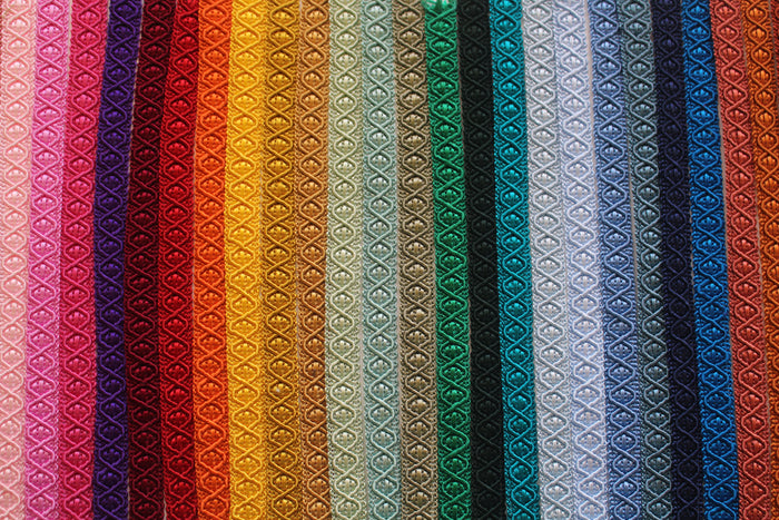 12mm Diamond Braid - 35 Colours