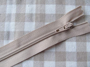 "Closed End Zip - 12"" (30cm)"
