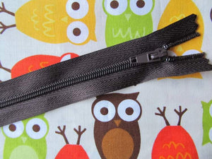 "Closed End Zip - 16"" (40cm)"