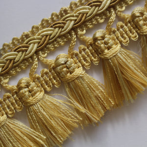 45mm Premium Plaited Tassel Fringe
