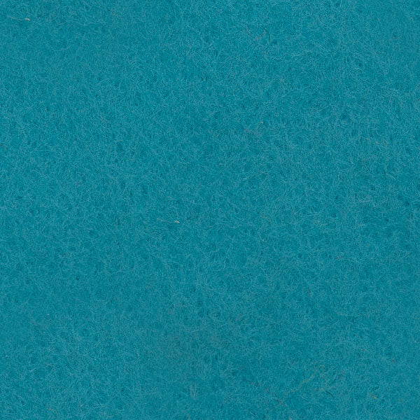 "Wool Mix Felt 9"" Square - Blue/Green Shades"