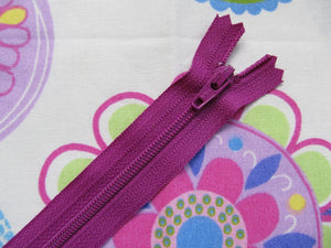 "Closed End Zip - 6"" (15cm)"