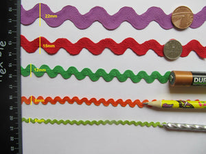 Large Ric Rac Trim - 3 Metre Length