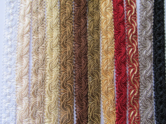 16mm Silky Polycotton Braid