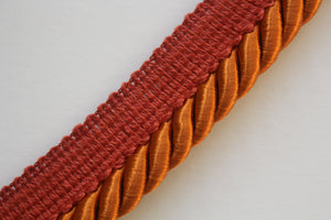 Premium Thick 9mm Flanged Furnishing Cord - 35 Colours