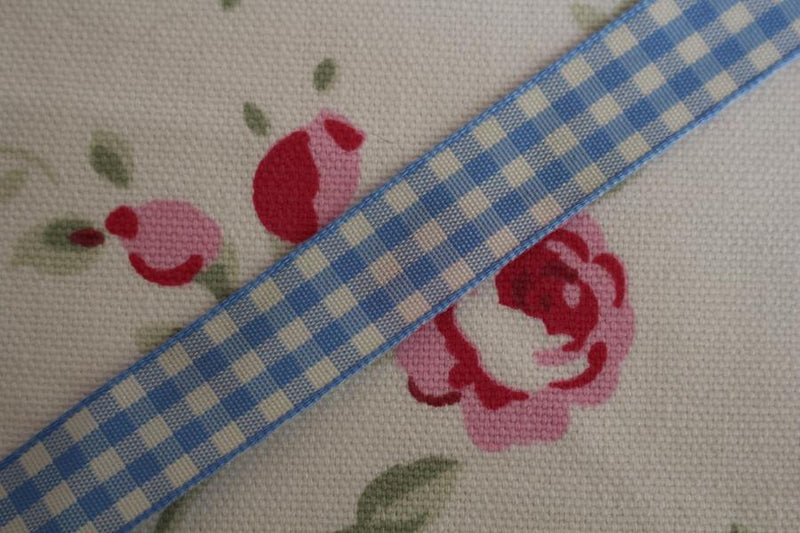 Rustic Gingham Ribbon 5 Metre Reel