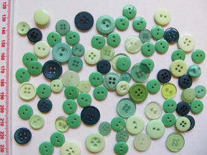 Small Mixed Buttons - 25g Pack