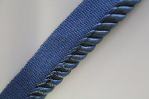 Premium Narrow 6mm Flanged Furnishing Cord - 35 Colours