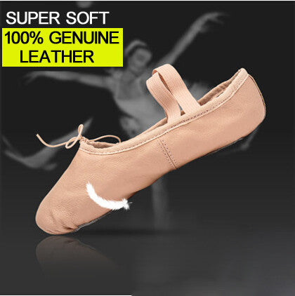 CHILD FULL SOLE LEATHER BALLET SHOE
