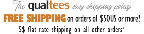 Free Shipping on $40US or more