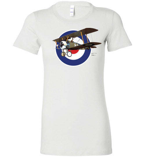 WWI - Sopwith F.1 Camel - Women Cotton T-Shirt