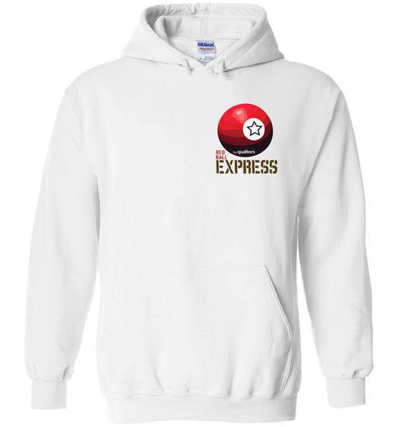 CCKW Red Ball Express - Cotwm a Polyester Hoodie