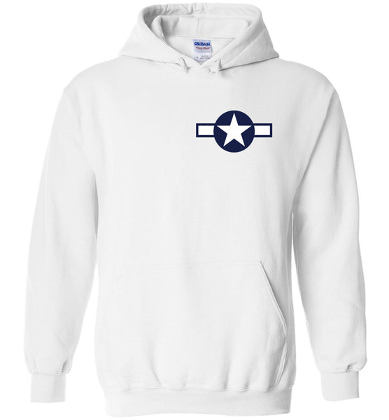 WWII - B-17 Flying Fortress - Bómull og Polyester Hoodie