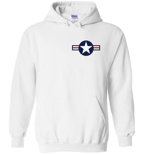 WWII - F4U Corsair v.3 - Cotwm a Polyester Hoodie